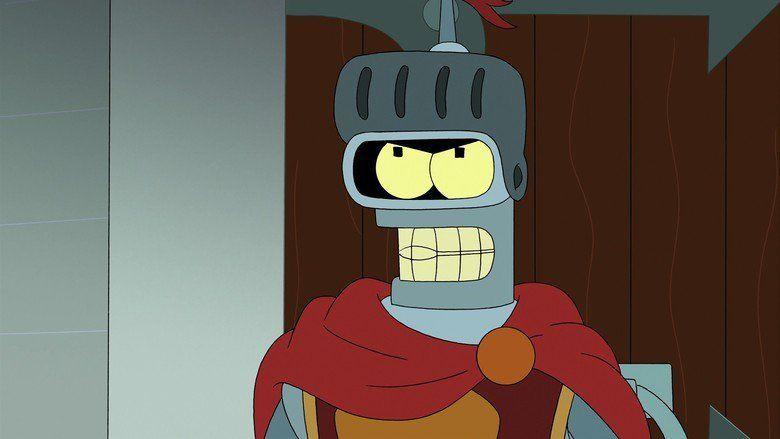 Futurama: Benders Game movie scenes