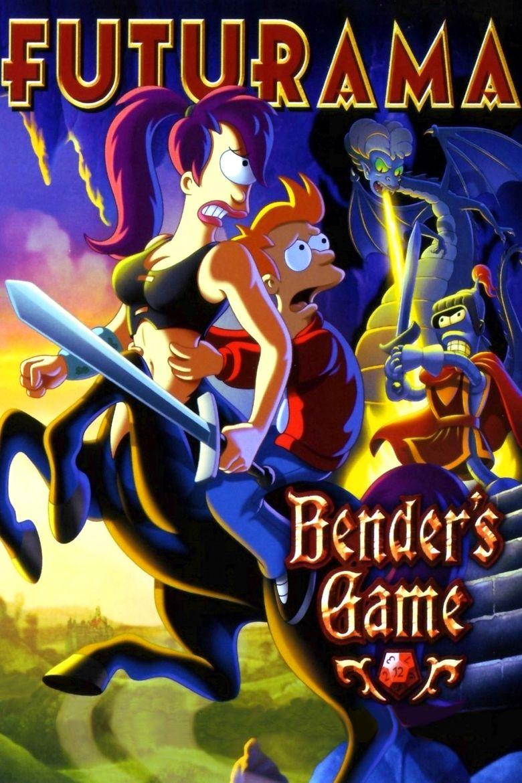 Futurama: Benders Game movie poster