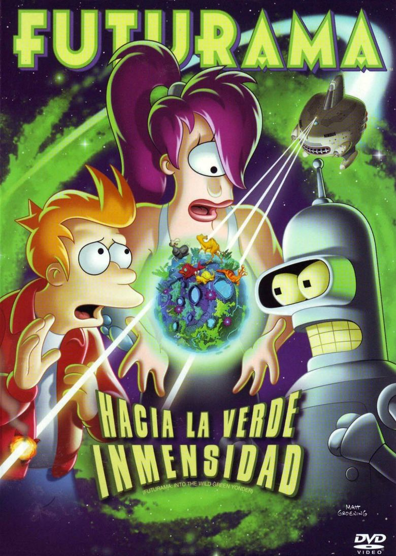 Futurama: Into the Wild Green Yonder movie poster