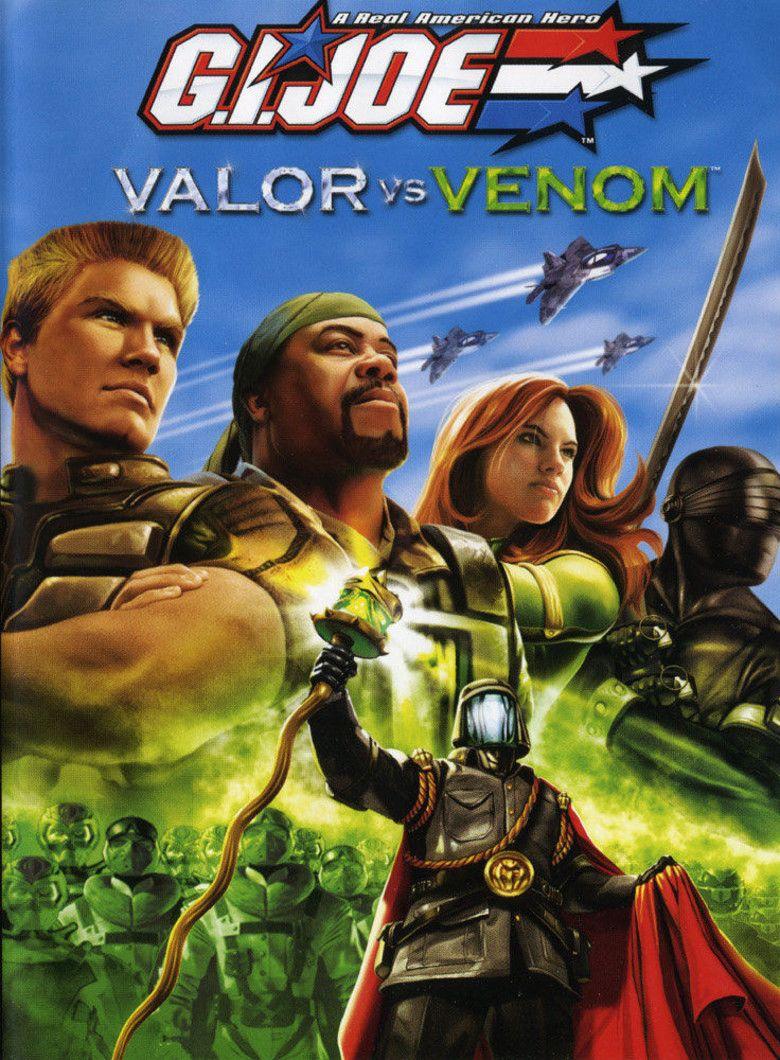 GI Joe: Valor vs Venom movie poster