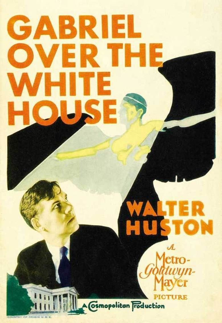 Gabriel Over the White House movie poster