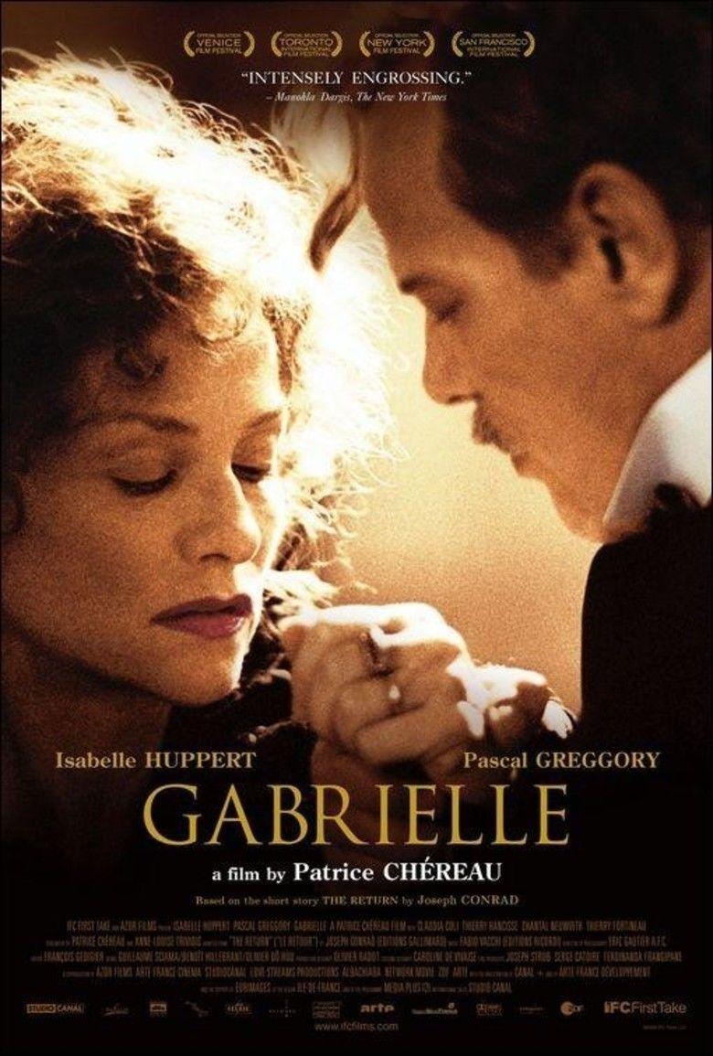 Gabrielle (2005 film) movie poster