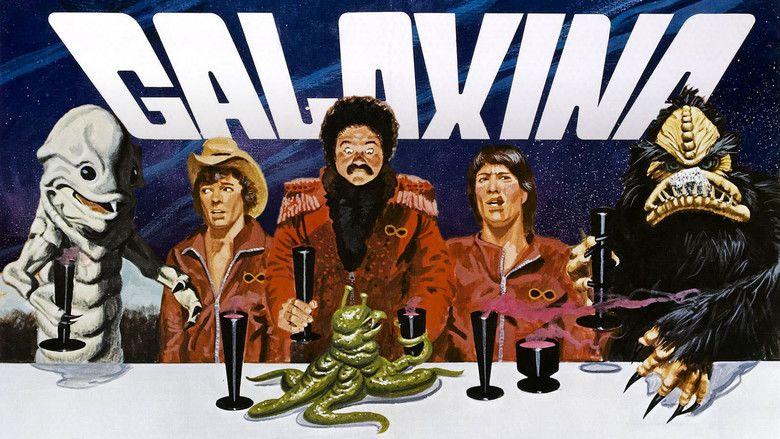 Galaxina movie scenes