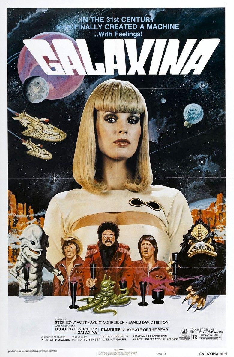 Galaxina movie poster