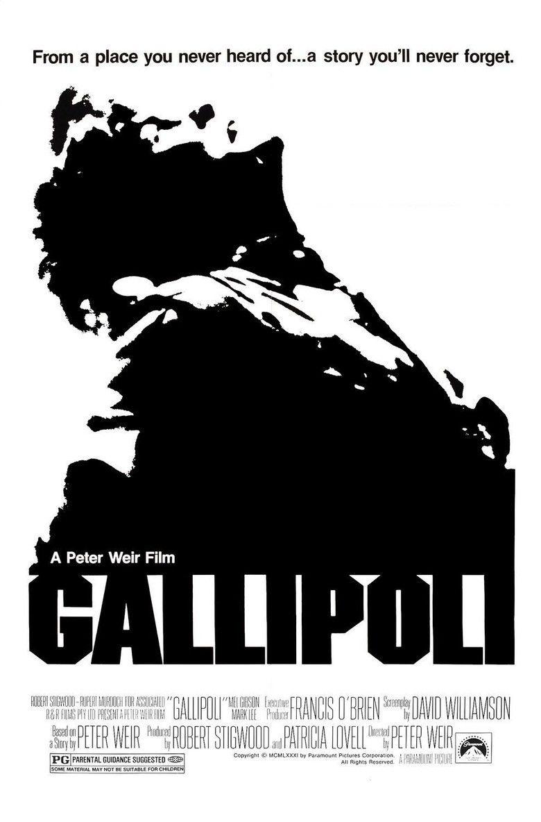 Gallipoli (1981 film) movie poster