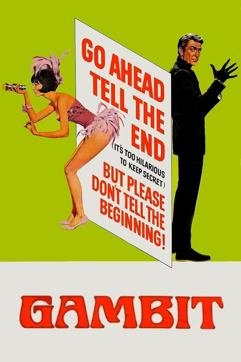 Gambit (1966 film) movie poster