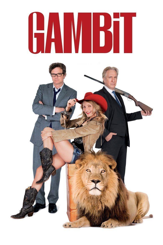 Gambit (2012 film) movie poster
