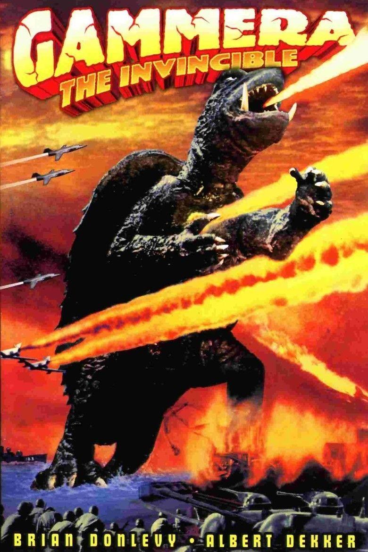 Gamera (film) movie poster
