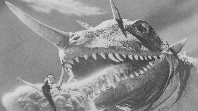 Gamera vs Barugon movie scenes