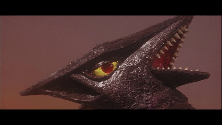 Gamera vs Gyaos movie scenes