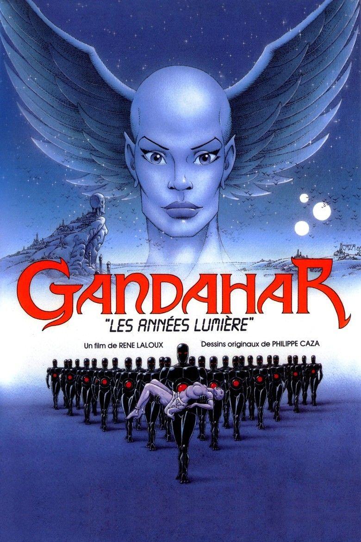 Gandahar (film) movie poster
