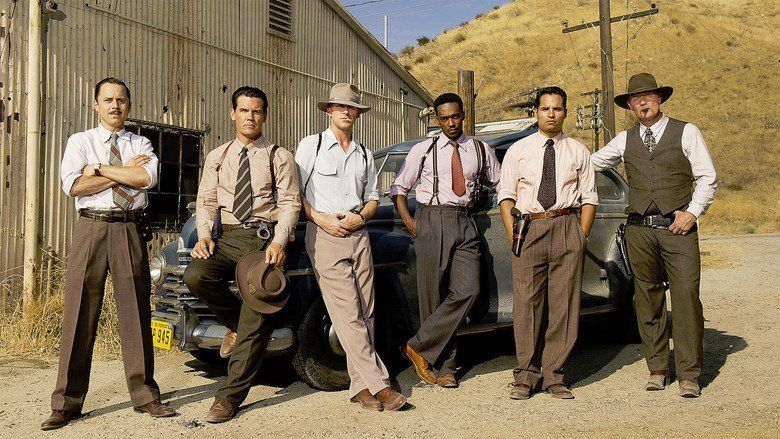 Gangster Squad movie scenes