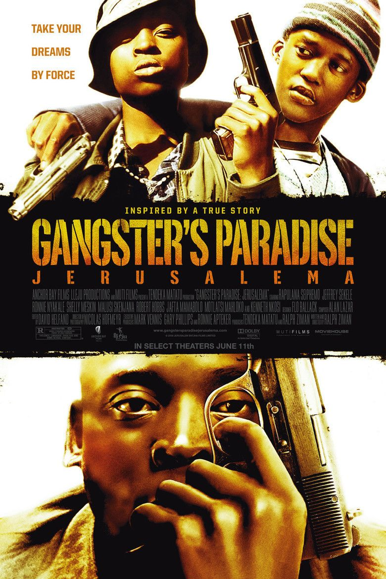Gangsters Paradise: Jerusalema movie poster