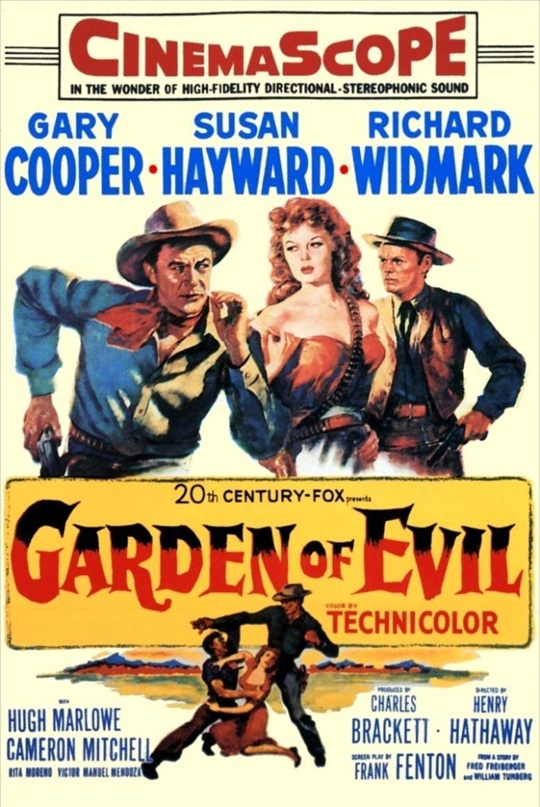 Garden of Evil movie poster