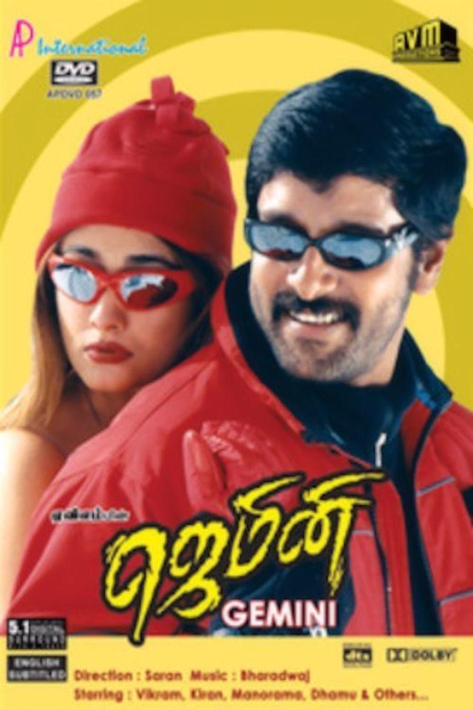 Gemini (2002 Tamil film) movie poster
