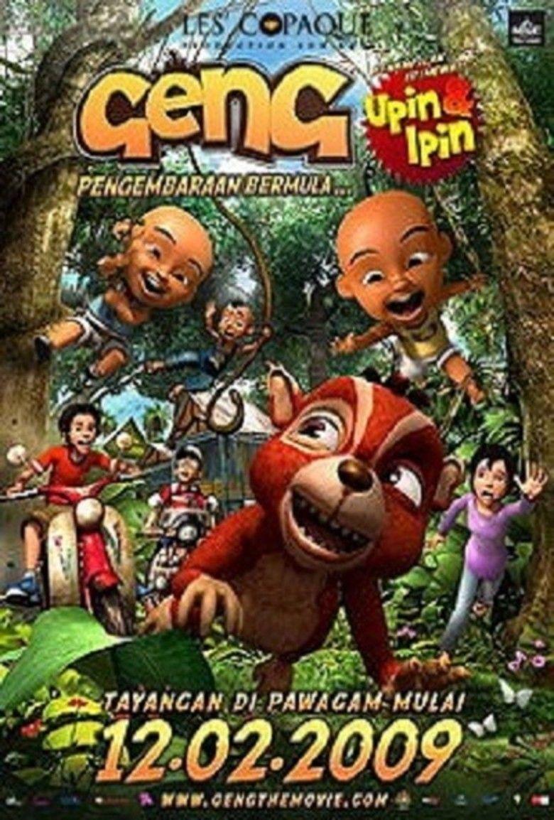 Geng: The Adventure Begins movie poster