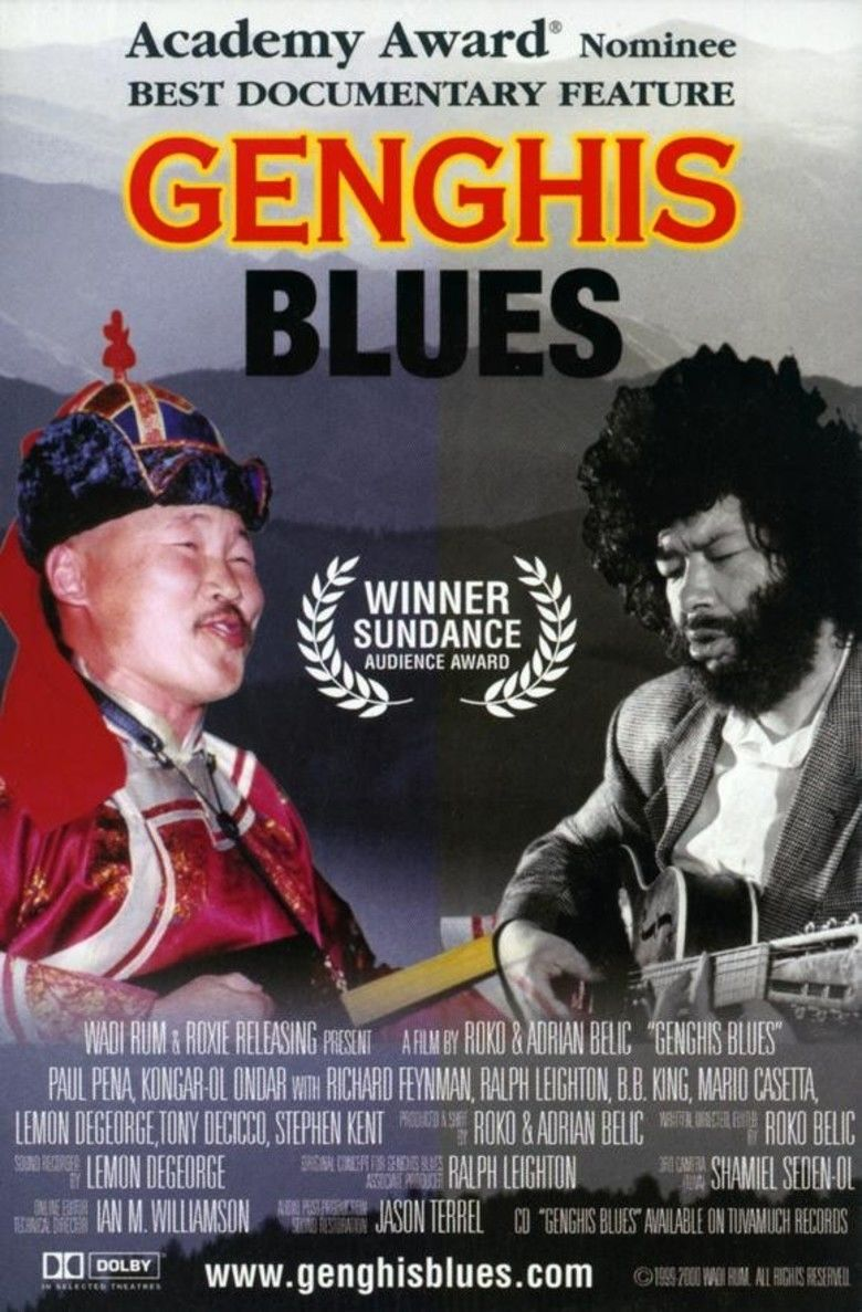 Genghis Blues movie poster
