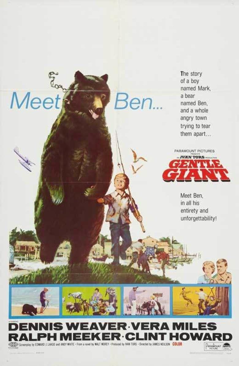 Gentle Giant (film) movie poster