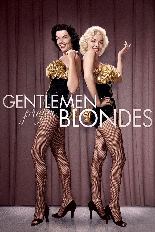 Gentlemen Prefer Blondes (1953 film) movie poster