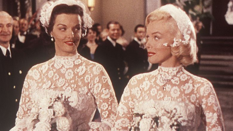 Gentlemen Prefer Blondes (1953 film) movie scenes