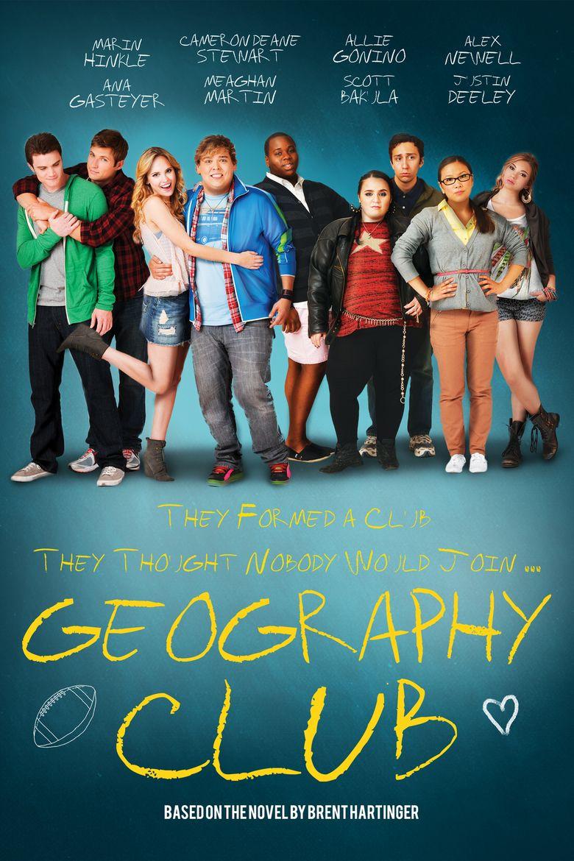 Geography Club (film) movie poster