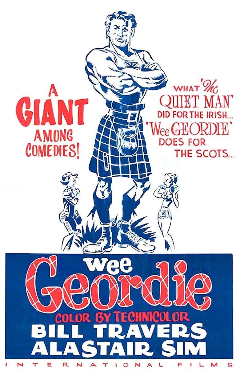 Geordie (film) movie poster