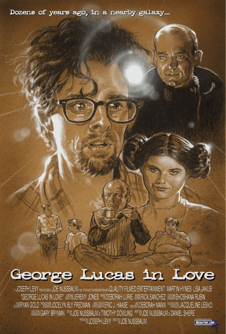 George Lucas in Love movie poster