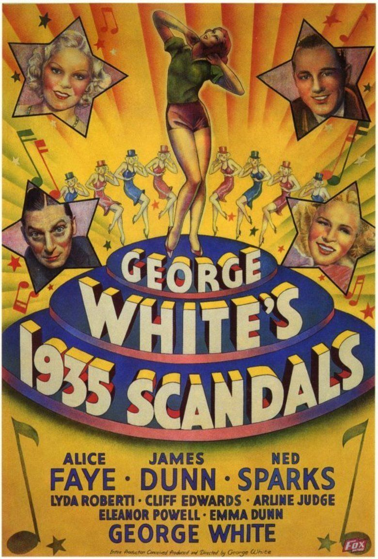 George Whites 1935 Scandals movie poster