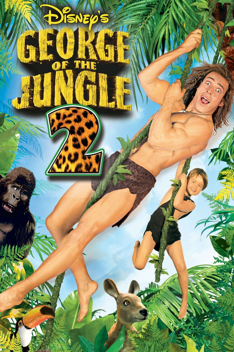 George of the Jungle 2 movie poster