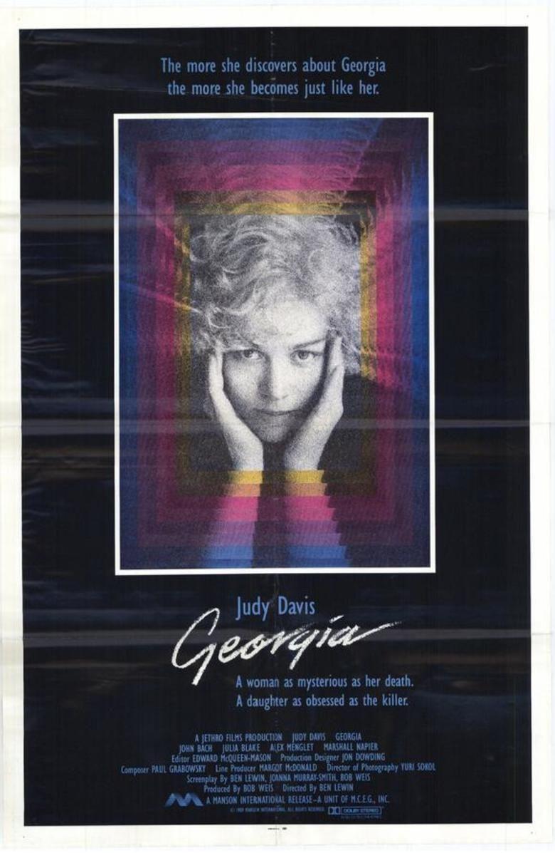 Georgia (1988 film) movie poster