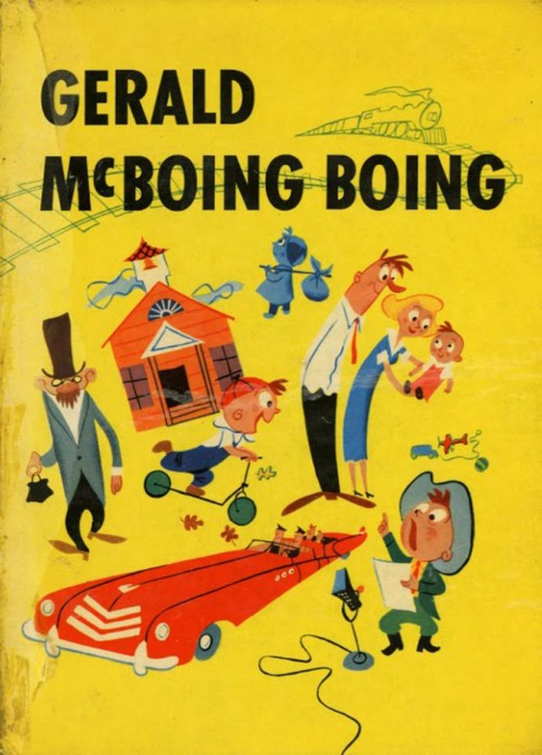 Gerald McBoing Boing movie poster
