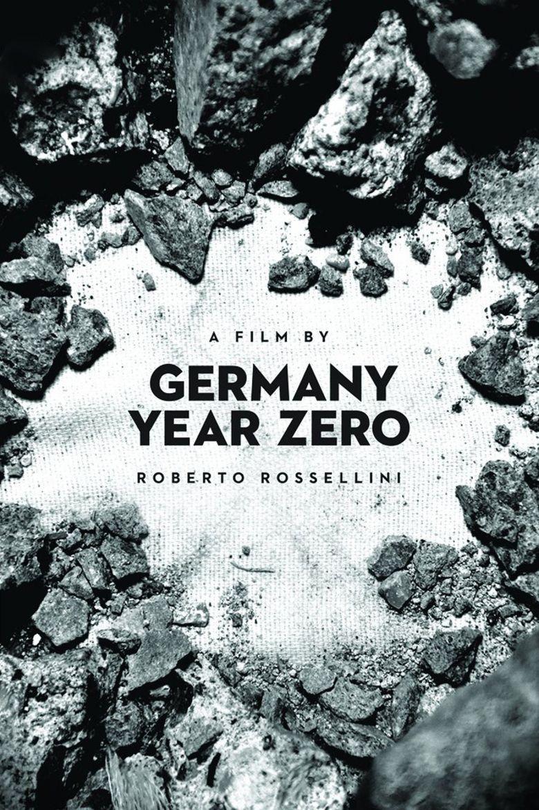Germany, Year Zero movie poster
