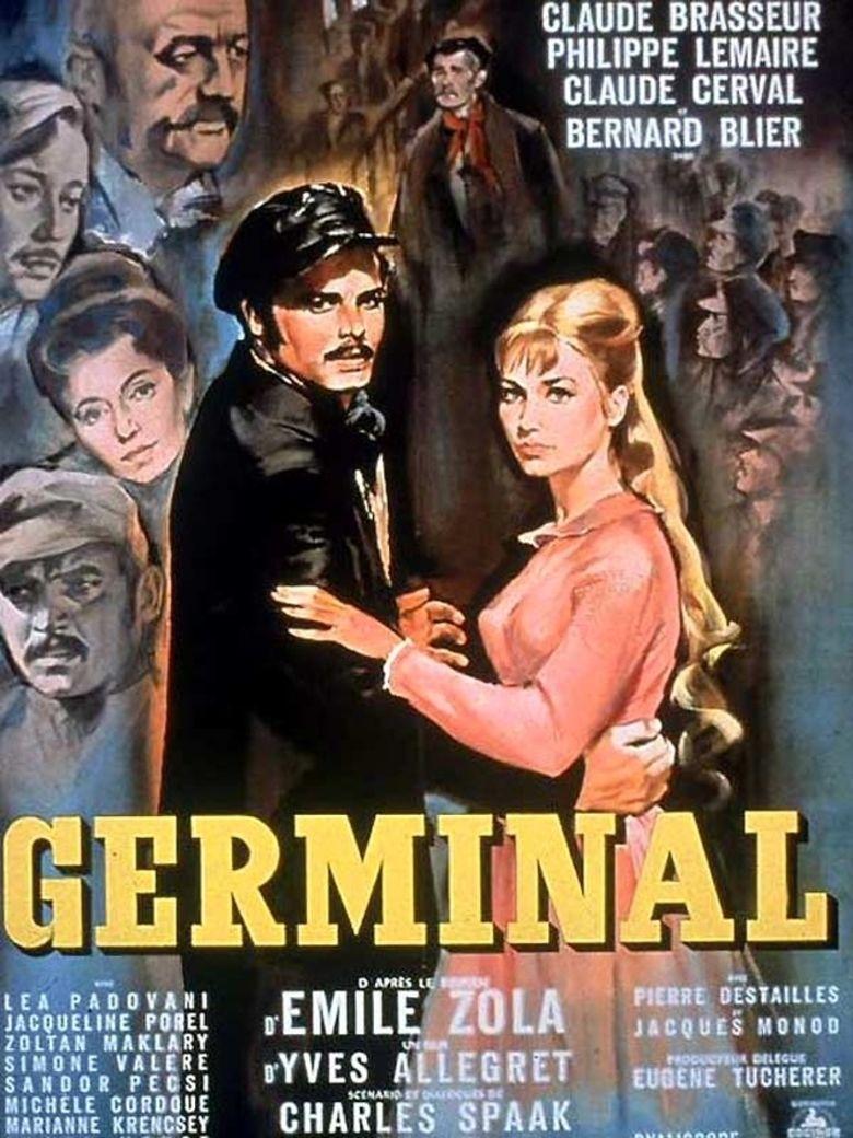 Germinal (1963 film) movie poster