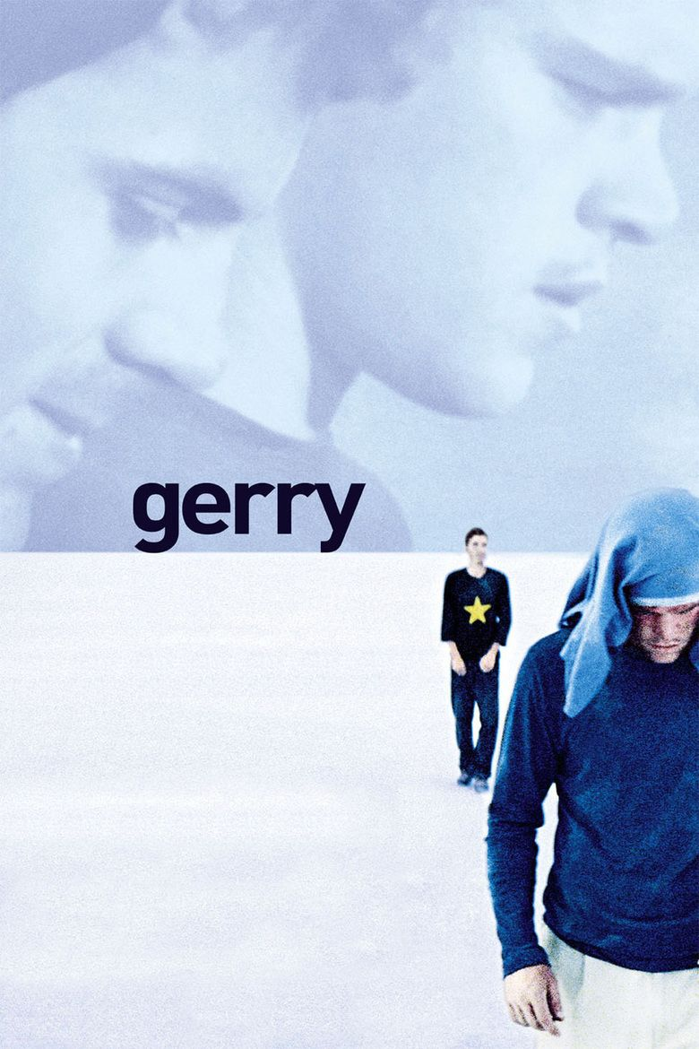 Gerry (2002 film) movie poster
