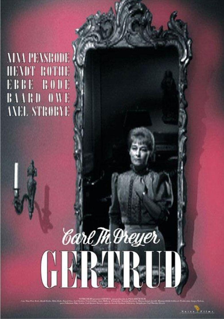 Gertrud (film) movie poster