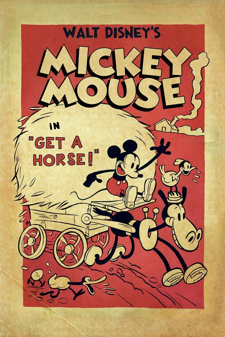 Get a Horse! movie poster