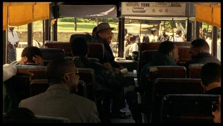 Get on the Bus movie scenes