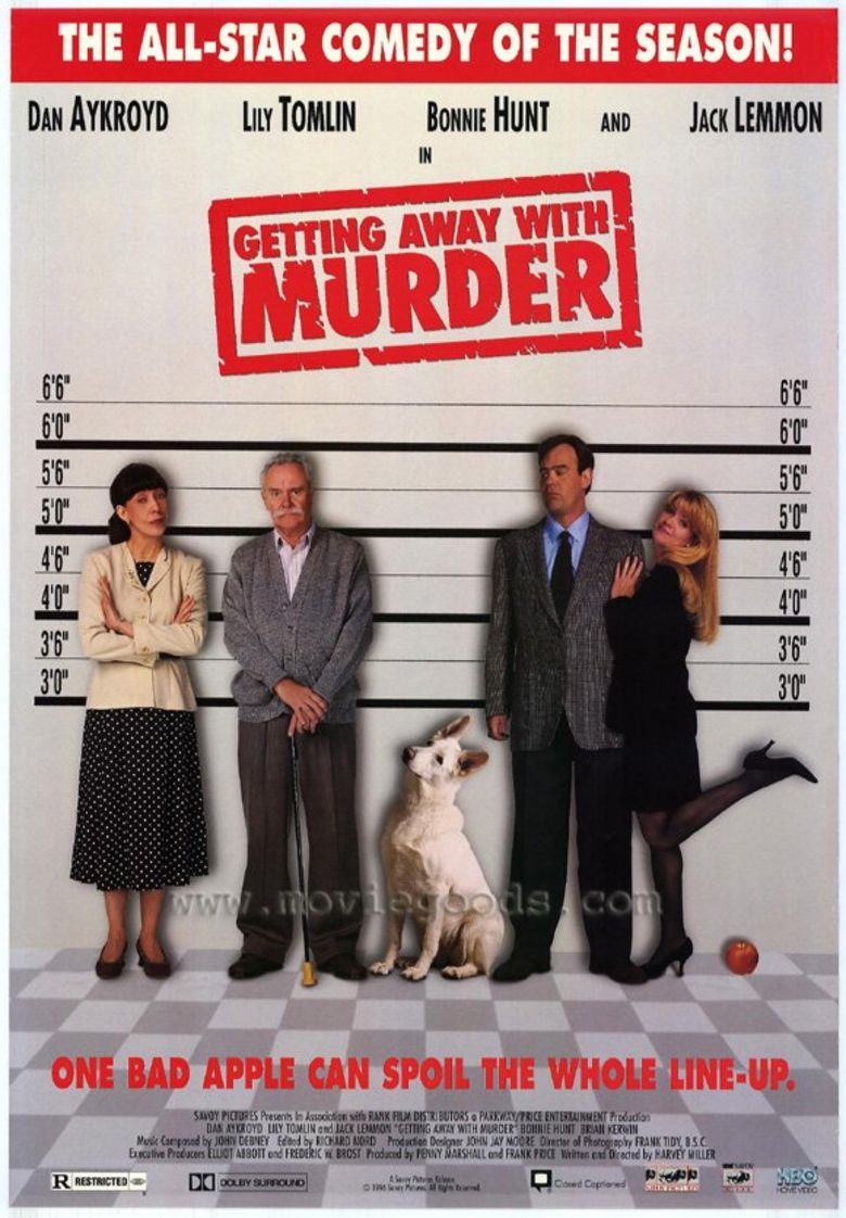 Getting Away with Murder (film) movie poster