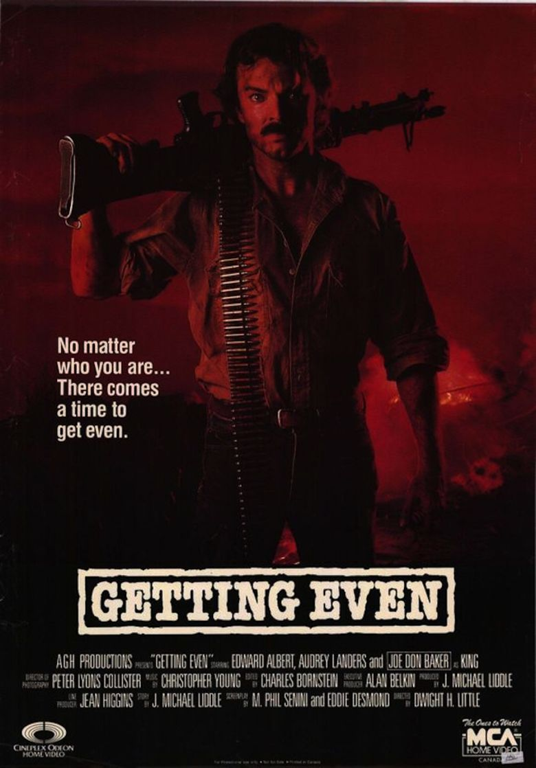 Getting Even (1986 film) movie poster