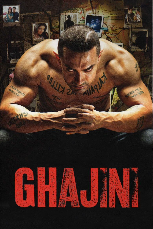 Ghajini (2008 film) movie poster