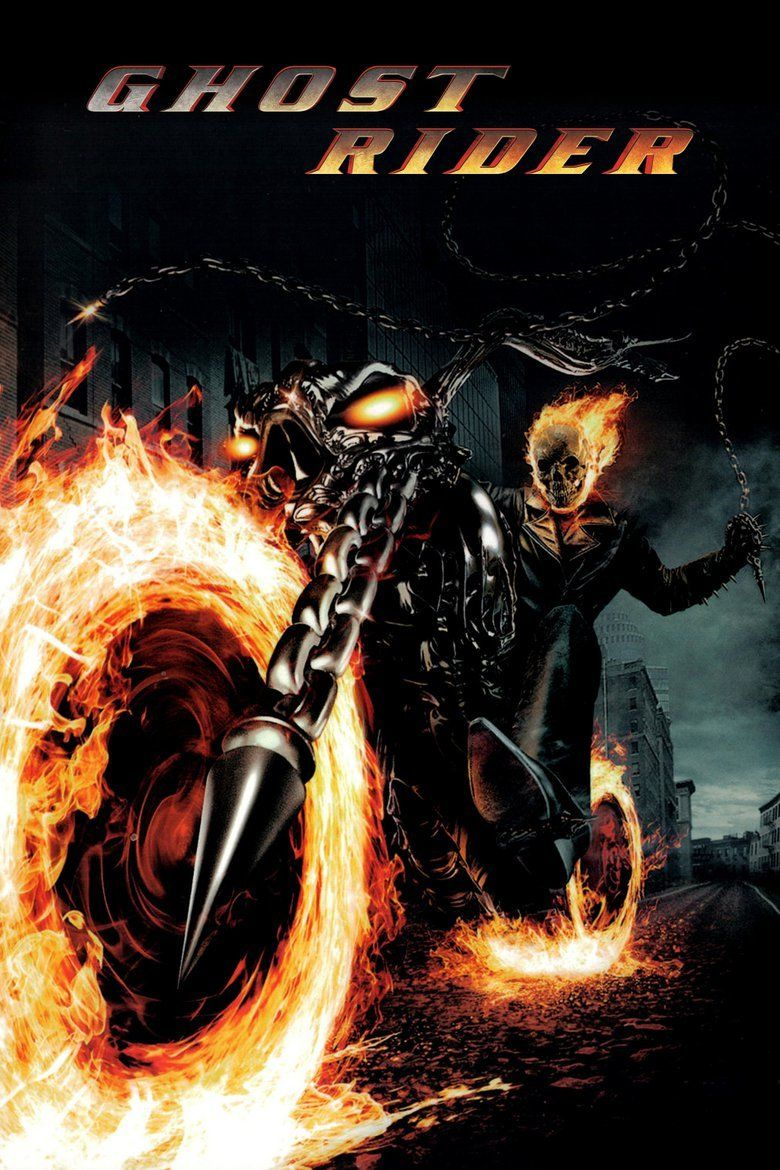 Ghost Rider (2007 film) movie poster
