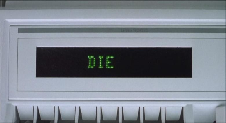 Ghost in the Machine (film) movie scenes