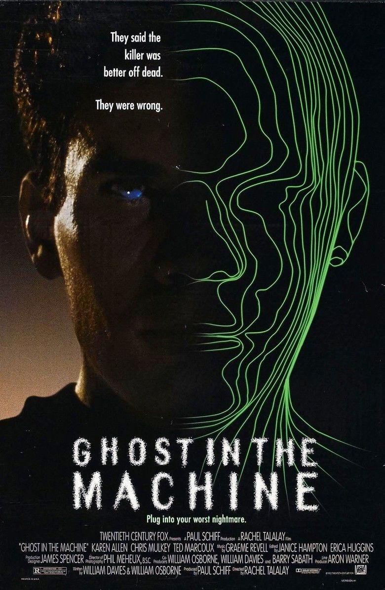Ghost in the Machine (film) movie poster