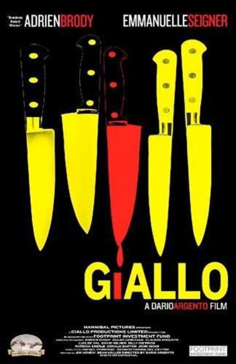 Giallo (film) movie poster