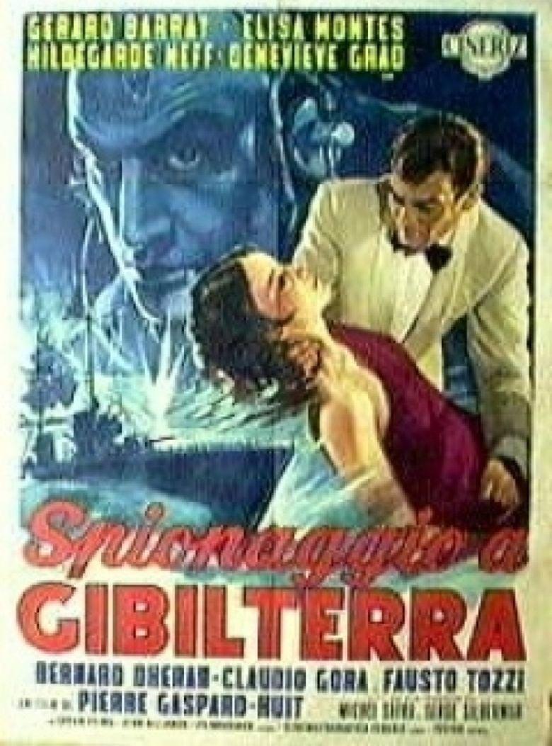 Gibraltar (1964 film) movie poster