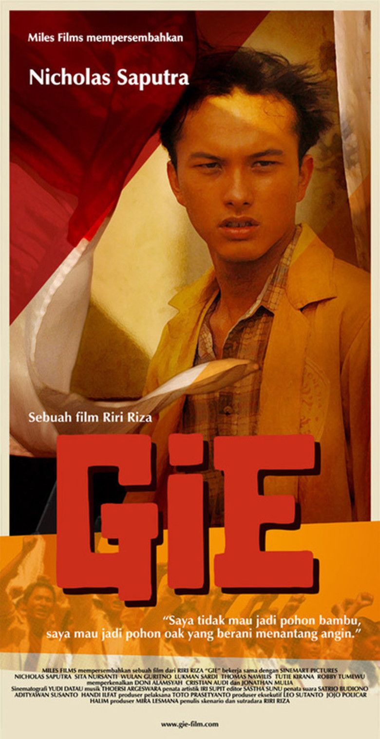 Gie movie poster