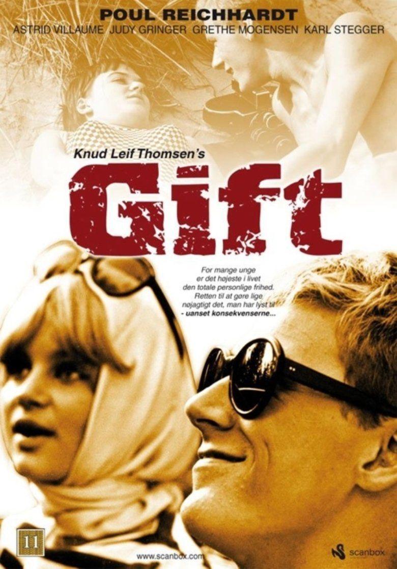 Gift (1966 film) movie poster starring Søren Strømberg and Sisse Reingaard