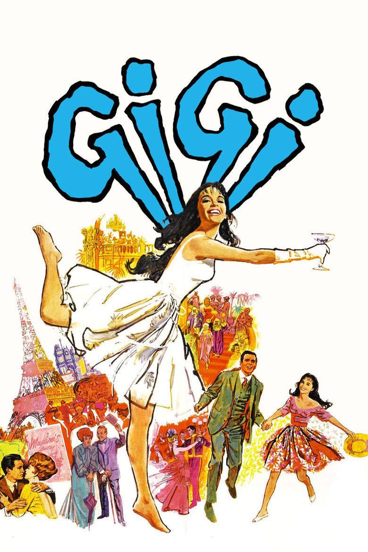 Gigi (1958 film) movie poster