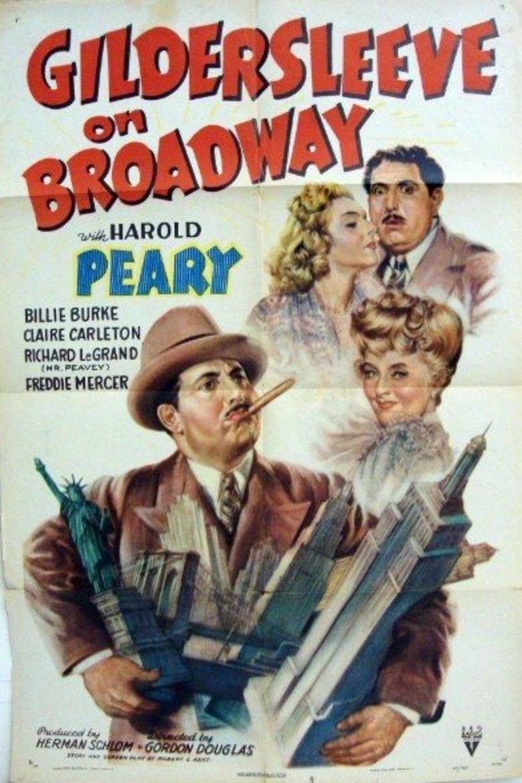Gildersleeve on Broadway movie poster