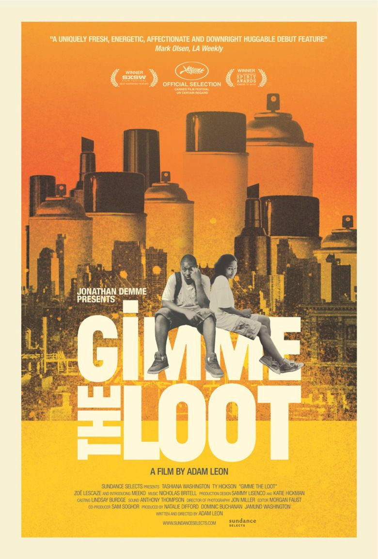Gimme the Loot (film) movie poster